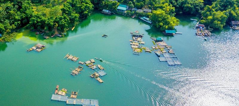 bến thuyền cảng Ngòi Hoa