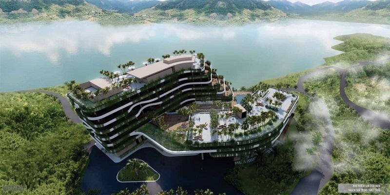 Khách sạn lớn khu vực trung tâm