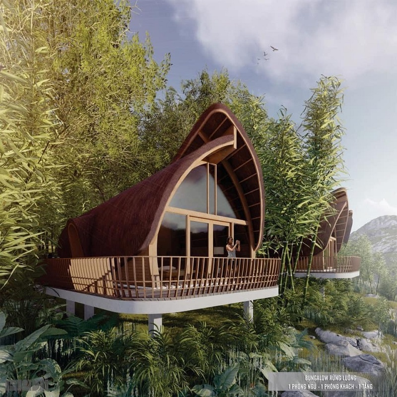 Bungalow rừng luồng