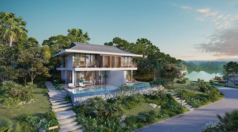 Mẫu thiết kế biệt thự dự án Cullinan Resort Hòa Bình